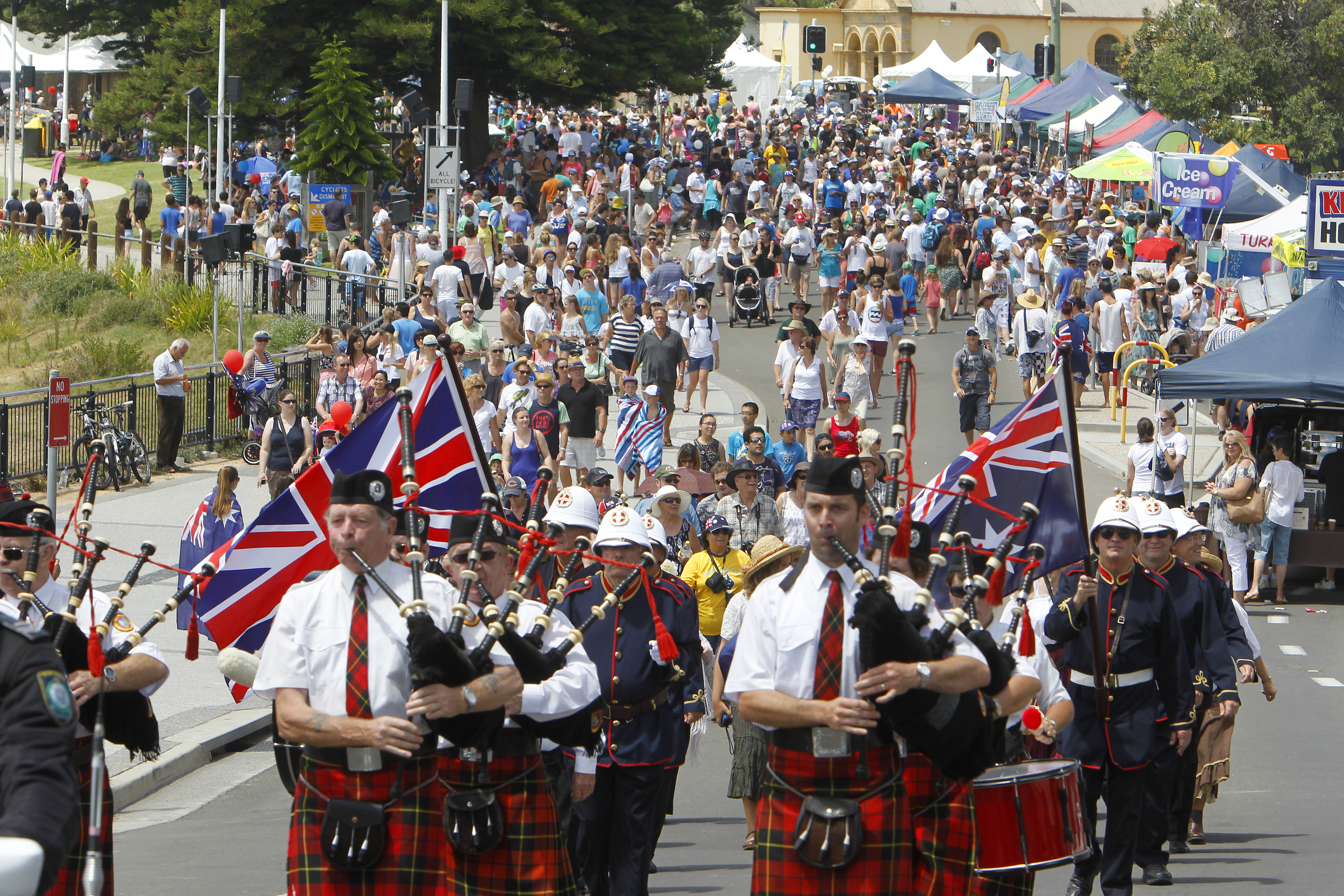 Australia Day Wollongong Bluejuice Events